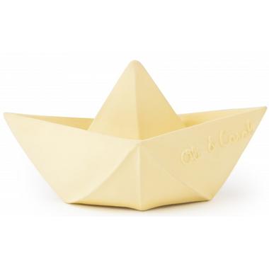 Oli and Carol Origami Boat Vanilla Yellow