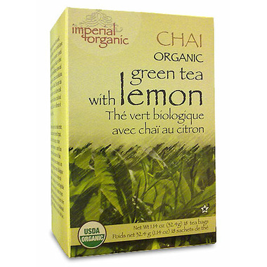 Uncle Lee\'s Imperial Organic Green Tea With Lemon