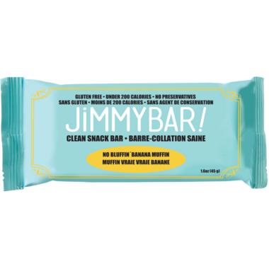 JimmyBars No Bluffin Banana Muffin