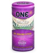 ONE Mixed Pleasures - Paquet de 12 préservatifs