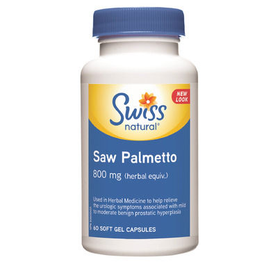 Swiss Natural Sources Saw Palmetto 800mg