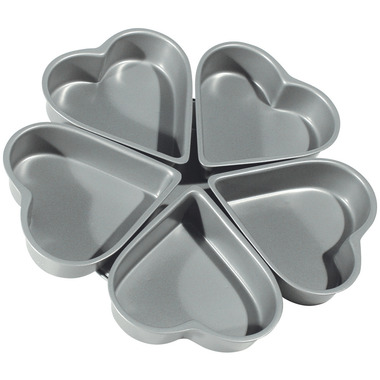 Non-Stick Heart Linked Pan