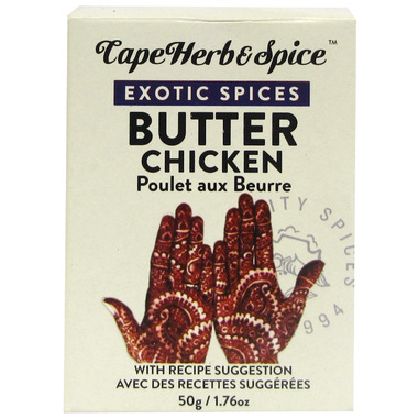 Cape Herb & Spice Exotic Spices Butter Chicken