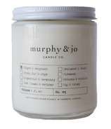 Murphy & Jo Candle Co. Soy Candle Ginger & Bergamot