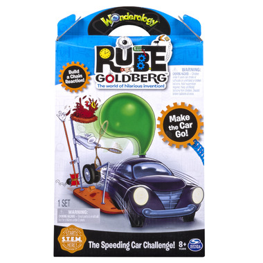 Wonderology Rube Golderg The Speeding Car Challenge