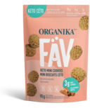 Organika Fav Keto Mini Cookies Snickerdoodle