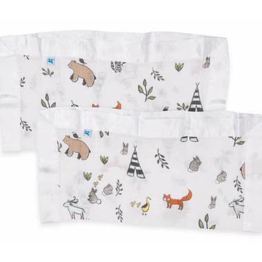 Little Unicorn Cotton Muslin Security Blankets Forest Friends