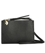 ela Wallet Crossbody Pebble Black