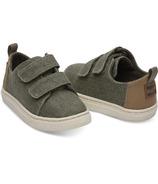TOMS Lenny Tiny Toms Sneaker Cypress Plain Weave