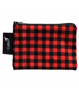 Colibri Reusable Snack Bag Small in Plaid