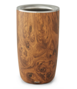 S'well Stainless Steel Wine Chiller Teakwood