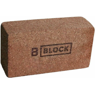 B Yoga B BLOCK Cork Yoga Block