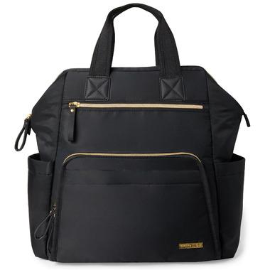Skip Hop Mainframe Wide Open Diaper Backpack Black