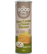 The Good Crisp Potato Crisps Sour Cream and Onion
