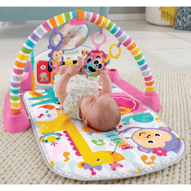 Fisher Price Deluxe Kick & Play Piano Gym Pink
