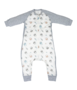 Nest Designs Raglan Bamboo Long Sleeve Cozy Sleep Suit 2.5 TOG Otter Love