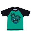 nano Rashguard T-shirt Botanic Green