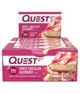 Quest Nutrition Protein Bar White Chocolate Raspberry Case