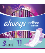 Always Radiant Infinity Day Pads Size 3 Extra Heavy