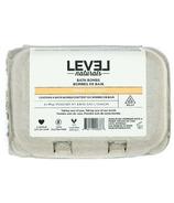 Level Naturals Bath Bombs Lemon + Coconut