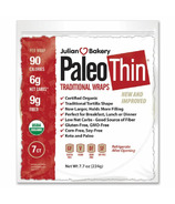 Julian Bakery Paleo Thin Wraps Original Flavour