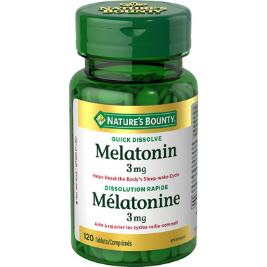 Nature\'s Bounty Melatonin