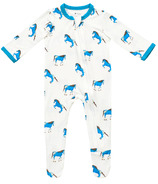 Kyte BABY Zippered Footie Horse