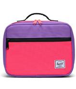 Herschel Supply Pop Quiz Lunch Box Amethyst Orchid/Neon Pink/Black