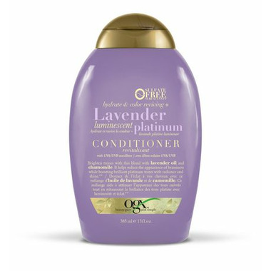 OGX Hydrate & Colour Reviving + Lavender Luminescent Platinum Conditioner