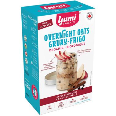 Yumi Organics Overnight Oats Apple Cinnamon
