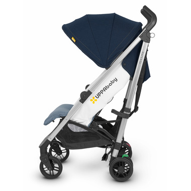 UPPAbaby G-Luze Stroller Aidan Denim and Silver