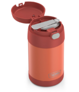 Thermos Stainless Steel FUNtainer Food Jar with Folding Spoon Apricot