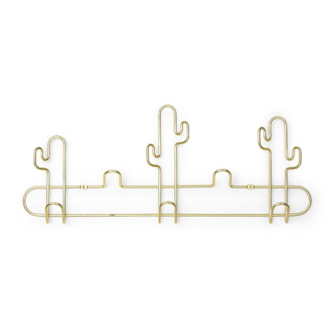 Umbra Desert Multi Hook Brass