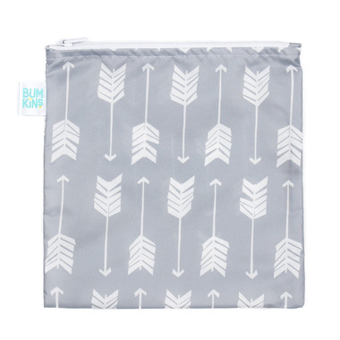 Bumkins Reusable Snack Bag Large Arrow