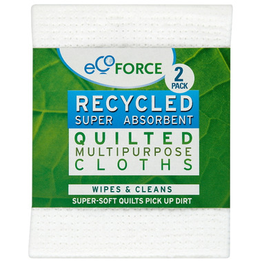 EcoForce Super Absorbent Recycled Quilted Multipurpose Clothes