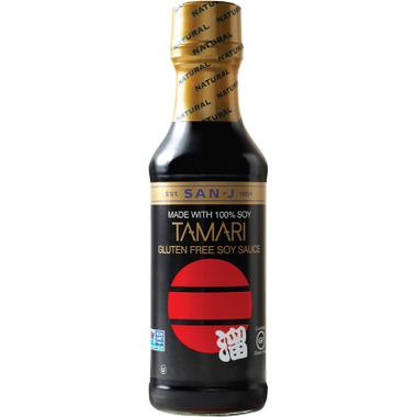 San-J Tamari Gluten Free Soy Sauce Large