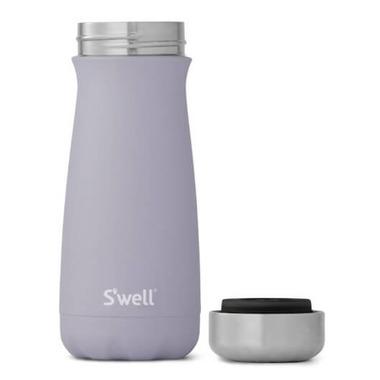 S\'well Traveler Stainless Steel Wide Mouth Bottle Purple Garnet