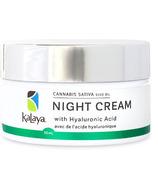 Kalaya Naturals Cannabis Sativa Seed Oil Night Cream