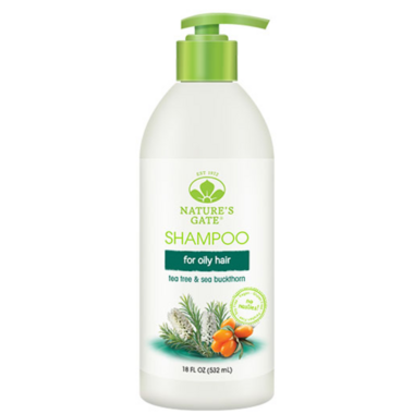 Nature\'s Gate Tea Tree + Sea Buckthorn Calming Shampoo