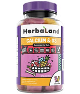 Herbaland Gummies for Kids: Calcium & D3