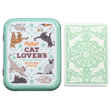 Ridley\'s Cat Lovers Playing Cards