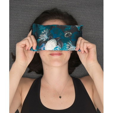Halfmoon Lavender Silk Eye Pillow Pacific Night Bloom