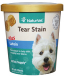 Naturvet Tear Stain Plus Lutein Soft Chews