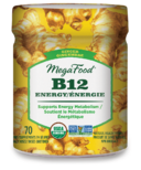 MegaFood Vitamin B12 Energy Ginger Gummies