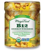 Gommettes de vitamineB12 énergisantes au gingembre de MegaFood