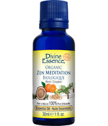Divine Essence Zen Meditation Organic Essential Oil Blend