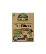 If You Care FSC Certified Unbleached Tea Filters Short