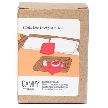 Campy Smells Like: Breakfast In Bed Soy Candle