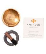 Halfmoon Brass Singing Bowl Set