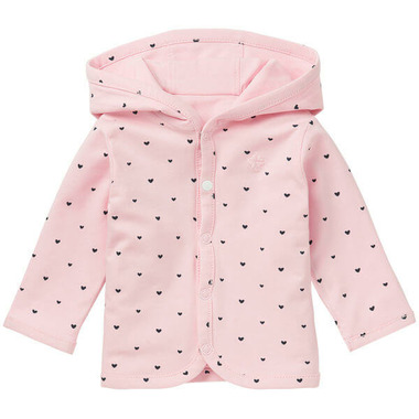 Noppies Organic Cotton Reversible Cardigan Novi Rose